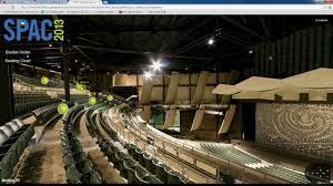 Saratoga Performing Arts Center Seating Chart With Rows Saratoga Performing Arts Center Seating Chart Virtual Tour
