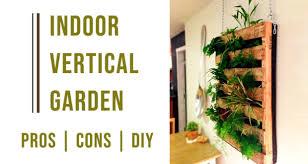 indoor vertical garden ideas benefits