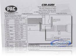 pac cr audi craudi radio replacement interface product pac c2r audi