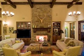 installing a stone fireplace in a bedroom will add needed warmth and a cozy atmosphere to this intimate space of your home