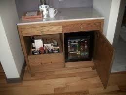 mini fridge for bedroom. mini bar (mini fridge not included) for bedroom