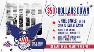 Rochester Americans Seating Chart Early Bird Offer On 2019 20 Amerks Season Tickets Begins Friday