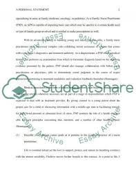 family nurse practitioner arizona admission application essay related essays