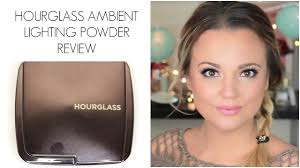 hourglass ambient lighting powder review and demo misstango2 you
