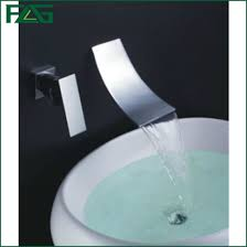 china brass chrome waterfall faucet