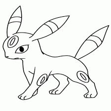 Pokemon Paradijs Kleurplaat Vaporeon Jolteon Flareon Eevee With