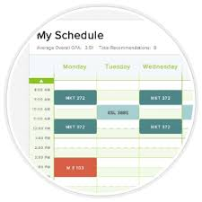 Course Schedule Maker Class Schedule Maker Super Easy And Cute I Bleed Green And White
