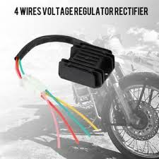 4 Wires <b>Voltage Regulator</b> Rectifier for <b>Motorcycle Boat</b> Motor ATV ...