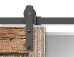 9 foot barn door track 4 black rustic sliding hardware ft