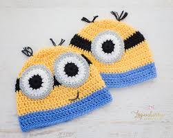 Minion Hat Crochet Pattern Fascinating Crochet Minions Beanie Free Pattern Loganberry Handmade