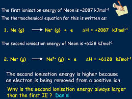 why is the second ionisation energy always larger