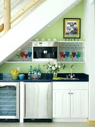 basement wet bar under stairs. Bar Under Stairs Use The Space In A Basement As Your Entertaining Zone . Wet