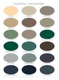 Membrane Colour Charts Brisbane Roof Restorations