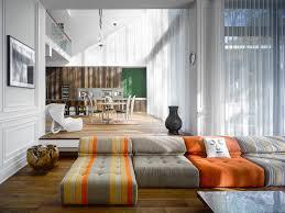 Modern Bamboo House Interior Design Modern Custom Home With Central Atrium And Interior Bamboo