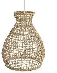 tropical pendant lighting. Woven Seagrass Pendant - Tropical Lighting Kate L