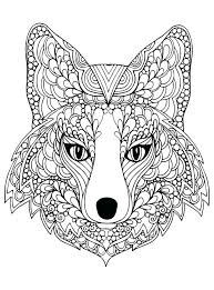 Wolf Coloring Pages For Adults Printable Wolf Coloring Pages Best