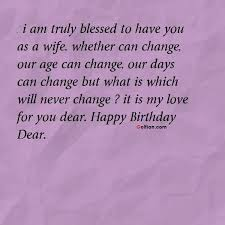 Birthday Quotes For Wife Cool 48 Most Beautiful Wife Birthday Quotes Nice Birthday Sayings For