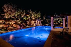 Pool Lighting Ideas Inground Pool Lights For Existing Pool Decoratingdecor Co