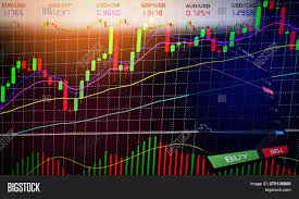 Stock Forex Trading Image Photo Free Trial Bigstock
