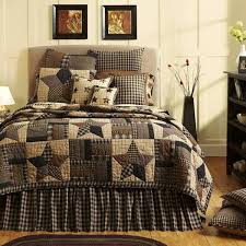 vhc brands bingham star quilted bed sets