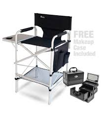 pro makeup artist chair makeup case bo includes the earth executive vip tall directors makeup chair zen makeup case w free chair carry bag 30