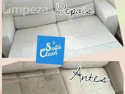sofá clean londrina limpeza