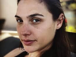 actress gal gadot aka wonder woman recently posted this no makeup selfie on insram gal gadot insram
