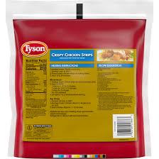 tyson fully cooked crispy en