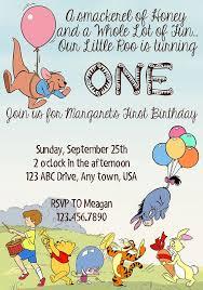 Amusing Winnie The Pooh Birthday Invitations Design To Make