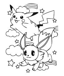 Pokemon Jolteon Kleurplaat Coloring Coloring Pages Eevee Evolutions