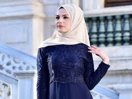 Model baju gamis pesta warna gold model gamis batik kombinasi gold. Apa Warna Jilbab Yang Cocok Dengan Baju Biru Dongker Ya