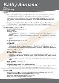 Sample Effective Resume 5 Techtrontechnologies Com