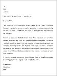 Letter Of Recommendation For Scholarship Cycling Studio