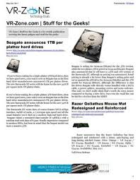 vr zone tech news for the geeks may 2011 issue