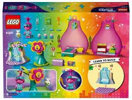 Купить <b>Конструктор LEGO Trolls</b> World Tour 41251 <b>Домик</b>-<b>бутон</b> ...