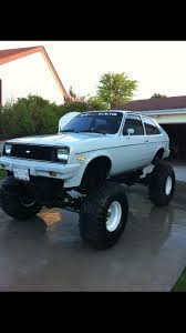 Chevy chevette, jacked up! | CARS <3 CARS <3 CARS <3 | Pinterest ...