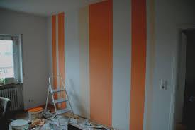 Muster Fr Die Wand Streichen Streifen Wohndesign