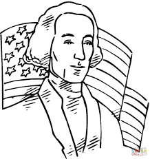 Small Picture George Washington First President Of The USA Coloring Page New