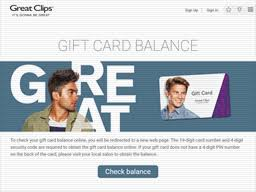 Great Clips | Gift Card Balance Check | Balance Enquiry, Links ...