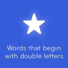 Answers 94 Words that begin with double letters