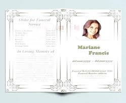Funeral Remembrance Cards Funeral Remembrance Cards Template