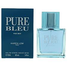 KAREN LOW PURE BLEU 3.4 FL. OZ. EAU DE ... - Amazon.com