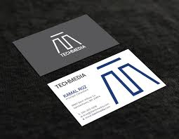 Graphic Design Germantown Md Modern Professional It Service Business Card Design For A