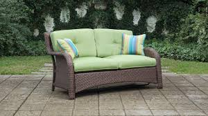 patio couch set. Seating - Sawyer 6 Piece Patio Set (Cilantro Green, Wicker) Couch