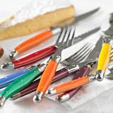 mirror zanui. andre verdier laguiole cutlery: debutant 24-piece mirror polish cutlery set, mixed, zanui