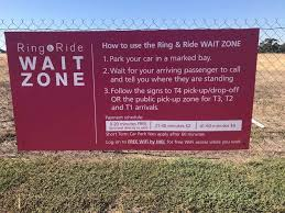 Car hire at melbourne airport. Psa Melbourne Airport Waiting Zone Get On It And Stop Parking On The Freeway Melbourne