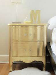 Image of: Painted Nightstands Yellow