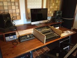 diy building a homerecording studio desk