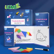 Magnetic EVA <b>3D</b> Brain Teasers <b>Jigsaw Puzzle</b> Tangram Games ...