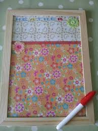Wipe Clean Memo Board Simple Personalised Wipe Clean Memo Board Emmaclaire Pinterest